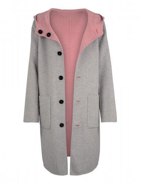 LUCIE • Wendemantel • Rosé Pink / Light Grey