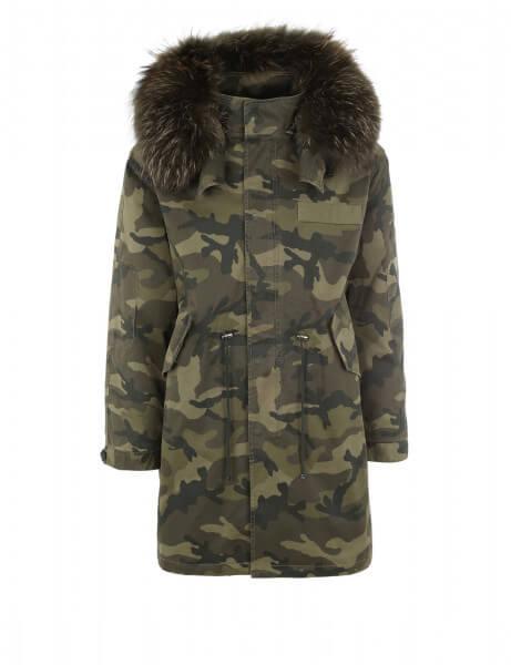MONTANA CAMO 515 • Echtfell Parka • Camouflage 7102