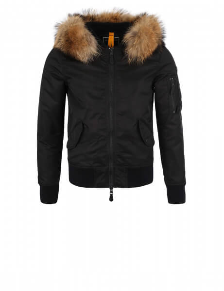Blonde No.8 Men's Fur Jacket Rocca 515 Black