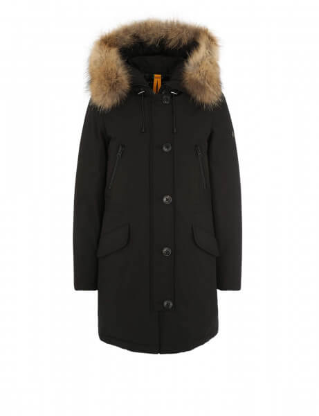 Blonde No.8 Damen Echtfell Parka Polar 515 Black
