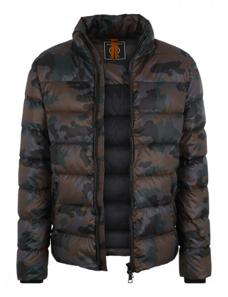 JAMES SP • Daunenjacke • Black / Camo