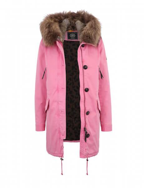 ASPEN 515 • Echtfell Parka • Pink Rosé