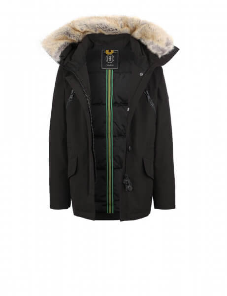 POLAR Kids 316 • Kunstfell Parka • Black