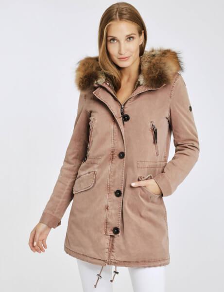 ASPEN 515 • Real Fur Winter Parka • Rosé